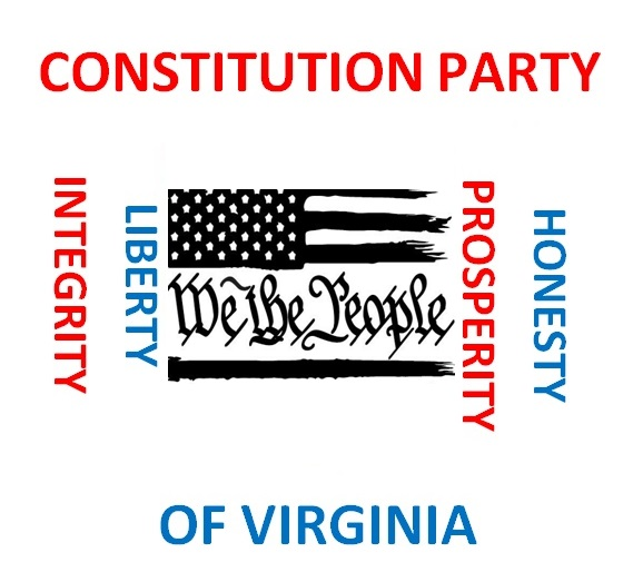 Constitution Party of Virginia We                                   the People Logo